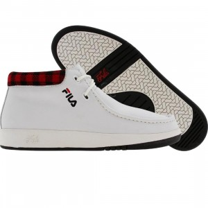 Fila Metropolis Leather TEX(white / black/ chnred)
