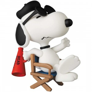 PREORDER - Medicom UDF Peanuts Series 11 Film Director Snoopy Figure (white)