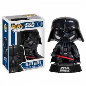 Funko POP Star Wars Series 1 Darth Vader Vinyl Bobble Head (black)
