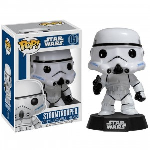 Funko POP Star Wars Series 1 Stormtrooper Vinyl Bobble Head (white)