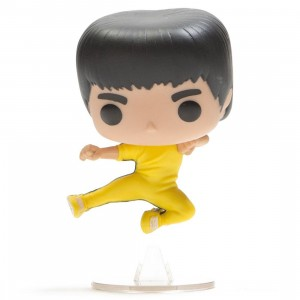 BAIT Exclusive x Funko POP Movies Bruce Lee Kicking (yellow)