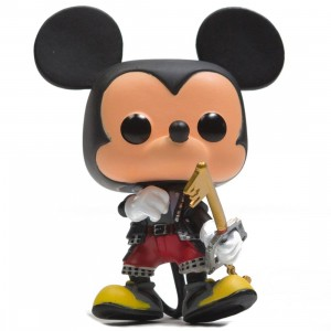 Funko POP Disney Kingdom Hearts 3 Mickey Figure (black)