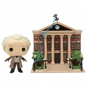 Funko POP Town Back To The Future - Doc With Clock Tower (gray)