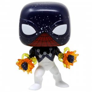 Funko POP Marvel Spider-Man Captain Universe - Entertainment Earth Exclusive (navy)