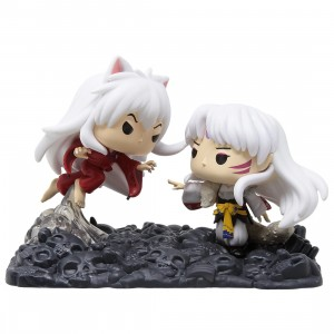 Funko POP Moment Inuyasha - Inuyasha vs. Sesshomaru Figure (white)