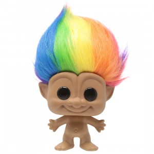 Funko POP Trolls Classic - 10 Inch Troll Multicolored Hair (brown)
