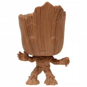 Funko Marvel Guardians Of The Galaxy Groot Wood Deco - Entertainment Earth Exclusive (brown)