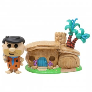 Funko POP Town The Flintstones Fred Flintstone With House (brown)