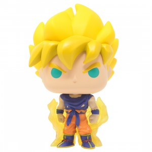 Funko POP Animation Dragon Ball Z Saiyan Goku First Appearance (yellow)