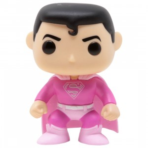 Funko POP Heroes Breast Cancer Awareness Superman (pink)