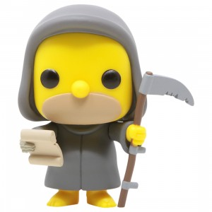 Funko POP TV The Simpsons Treehouse Of Horror - Grim Reaper Homer (gray)