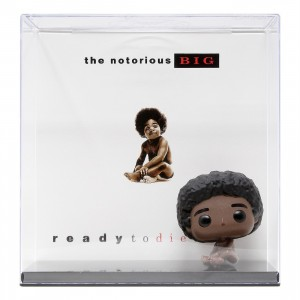 Funko POP Albums Ready To Die Notorious B.I.G. With Hard Shell Case (brown)