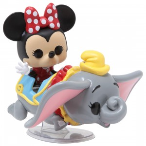 Funko POP Rides Disney 65th Anniversary Dumbo The Flying Elephant Attraction And Minnie Mouse (gray)