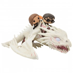 Funko POP Rides Harry Potter - Harry Hermione And Ron Riding Gringotts Dragon (gray)