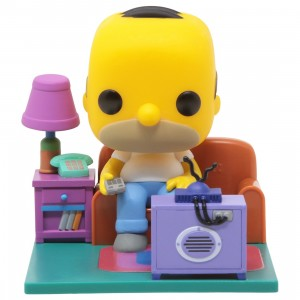 Funko POP Deluxe The Simpsons - Homer Watching TV (yellow)