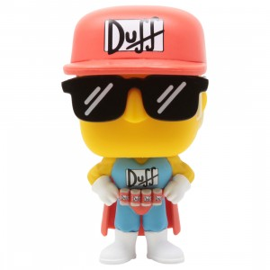 Funko POP TV The Simpsons - Duffman (red)