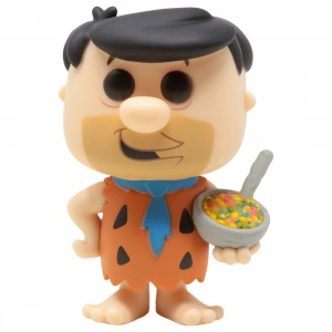 Funko POP Ad Icons The Flintstones And Fruity Pebbles - Fred Flintstone With Fruity Pebbles (orange)