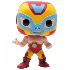 Funko POP Marvel Lucha Libre Edition - Iron Man El Heroe Invicto (yellow)