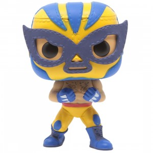 Funko POP Marvel Lucha Libre Edition - Wolverine El Animal Indestructible (yellow)