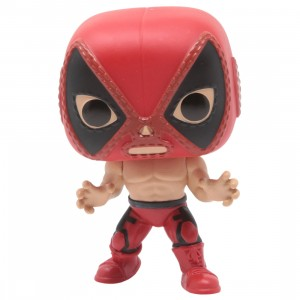 Funko POP Marvel Lucha Libre Edition - Deadpool El Chimichanga De La Muerte (red)