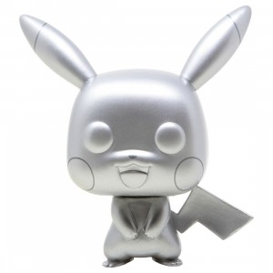 Funko POP Games Pokemon - Pikachu Silver Metallic (silver)