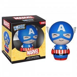 Funko Dorbz Marvel Captain America (blue)