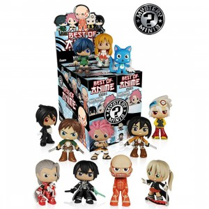 Funko Best Of Anime Collection Series 1 PDQ Mystery Minis Vinyl Figure - 1 Blind Box