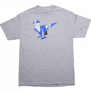 The Forest Lab T-Rex Tee - Blue SB Box (heather)