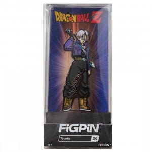 FiGPiN Dragon Ball Z Trunks #26 (purple)