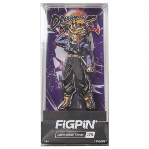FiGPiN Dragon Ball FighterZ Super Saiyan Trunks #175 (purple)