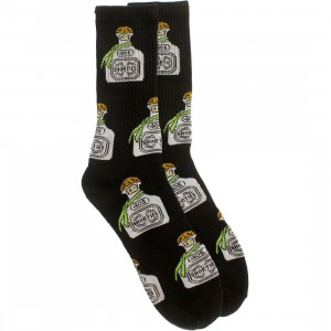 40s and Shorties Tequila Sock (black) 1S