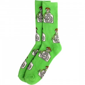 40s and Shorties Tequila Sock (green / light green) 1S