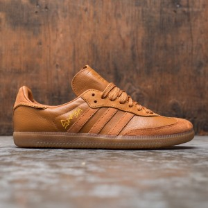 Adidas x Jonah Hill Men Samba (brown / craft ochre / tech copper / ecru tint)