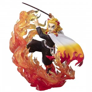 PREORDER - Bandai Figuarts ZERO Demon Slayer Kimetsu no Yaiba Kyojuro Rengoku Flame Breathing Figure (orange)