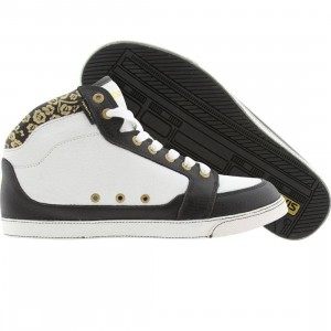 Gravis Womens Lowdown HC Leather (white / black)