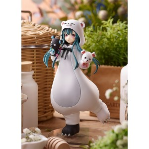 PREORDER - Good Smile Company Pop Up Parade Kuma Kuma Kuma Bear Yuna White Bear Ver. Figure (white)