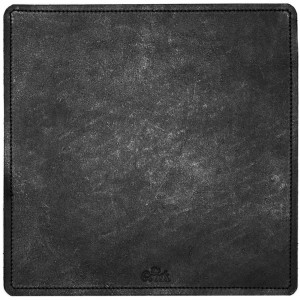 The Goods LA The Surface Leather Mouse Pad (black)