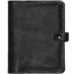 The Goods LA The Nota Bene Leather Organizer Cover (black)