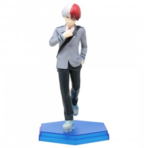Good Smile Company Pop Up Parade My Hero Academia Shoto Todoroki Figure (gray)