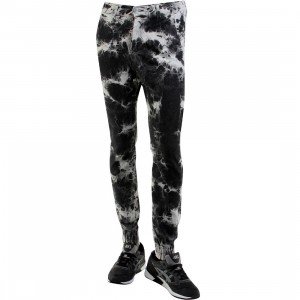Golden Denim Marathon Tie Dye Pants (black / gray)