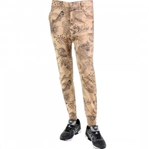 Golden Denim Marathon Paisley In Khaki Pants (khaki)