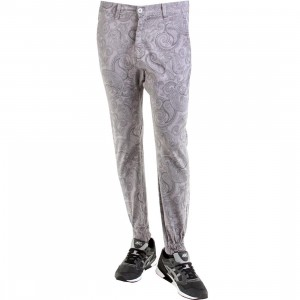 Golden Denim Marathon Paisley In Gray Pants (gray)