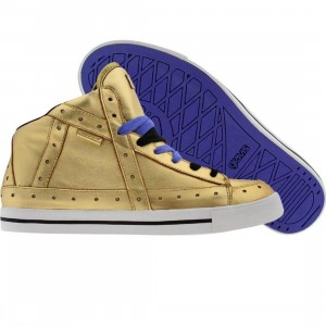 Gravis Womens Gemini High (metallic gold)
