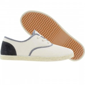 Generic Surplus Borstal Canvas Suede (natural / navy)