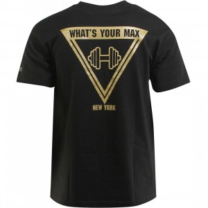 Hall Of Fame Dumbbell Tee (black)