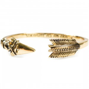 Han Cholo Arrow Bangle Bracelet (gold / brass)