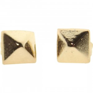 Han Cholo Medium Spike Stud Earrings - Shadow Series (gold)