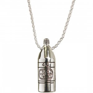 Han Cholo 40 Oz Pendant Necklace (silver)
