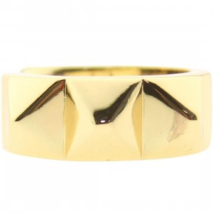 Han Cholo Big Spike Ring - Shadow Series (gold)