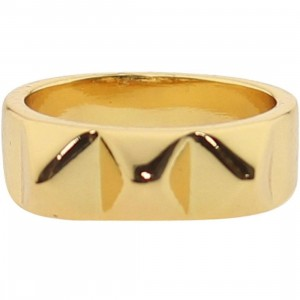 Han Cholo Medium Spike Ring (gold)